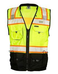Ml Kishigo S5002-5003 Premium Black Series Surveyors Vest
