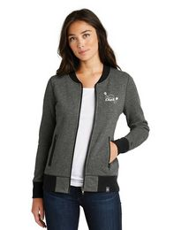 New Era Logo Embroidered Full Zip Jacket - For Women