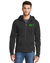 New Era NEA502 Mens Full Zip Hoodie