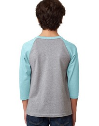Next Level 3352 CVC 3/4 Sleeve Raglan Tee