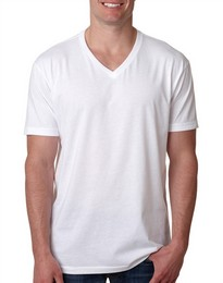 Next Level 6240 NL Mens CVC V Neck Tee