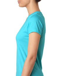 Next Level 6740 Ladies Deep V Tri-Blend