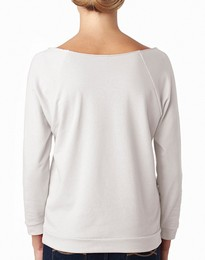 Next Level 6951 The Terry Raw Edge Raglan Tee