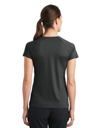 Nike Golf Dri-FIT Logo Embroidered V-Neck Top