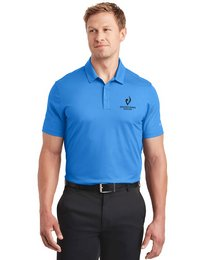 Nike Golf Dri-FIT Logo Embroidered Tri-Blade Polo