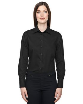 North End 78673 Boulevard Ladies Dobby Shirt