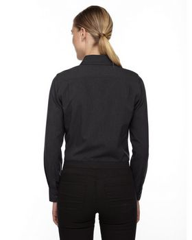 North End 78802 Ladies Melange Shirt
