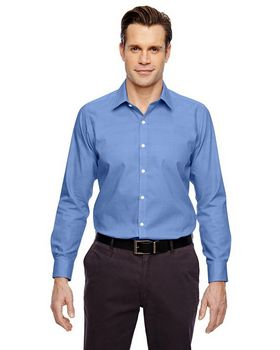 North End Sport Blue 88690 Precise Mens Shirt
