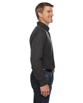 North End 88802 Central Ave Mens Melange Perfromance Shirt