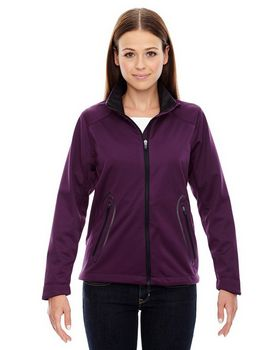 North End Sport Red 78655 Splice Ladies Jacket