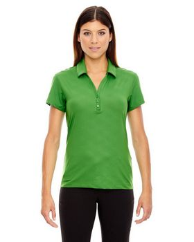 North End Sport Red 78659 Maze Ladies Polo