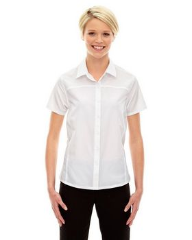 North End Sport Red 78675 Charge Ladies Shirt