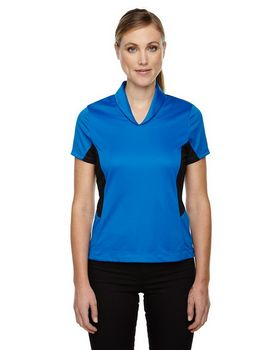 North End Sport Red 78683 Rotate Ladies Polo