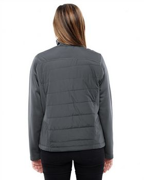 North End 78809 Ladies Hybrid Insulated Jacket