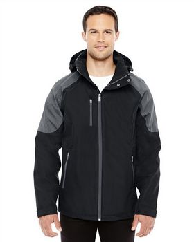 North End 88808 Mens Seam Sealed Shell Jacket