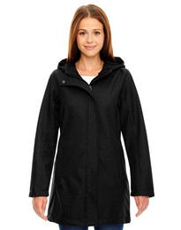 North End 78171 Ladies Textured City Jacket