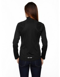 North End 78187 Radar Ladies Half Zip Performance Top