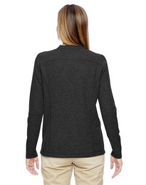 North End 78221 Ladies Waffle Henley