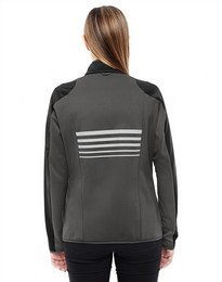North End 78230 Ladies Motion ColorBlock Performance Fleece Jacket