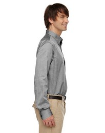 North End 87036 Mens Yarn Dyed Dobby Shirt