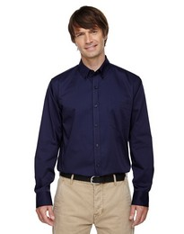 North End 87041 Establish Mens Dobby Striped Shirts
