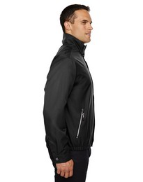 North End 88103 Mens Micro Twill Bomber Jacket