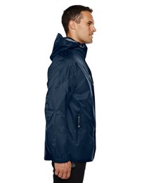 North End 88120 Mens 3-In-1 Techno Hooded Jacket