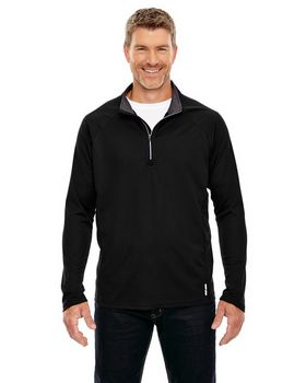 North End 88187 Radar Mens Half-Zip Top