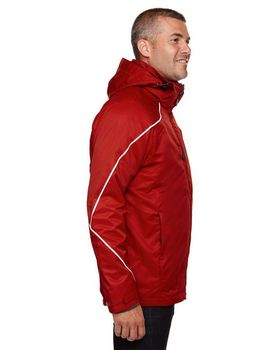 North End 88196T Angle Mens Tall 3-in-1 Jacket