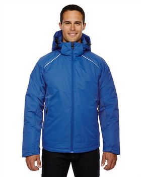 North End Sport Red 88197 Linear Mens Jacket
