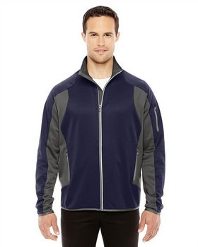 North End 88230 Mens Motion ColorBlock Fleece Jacket