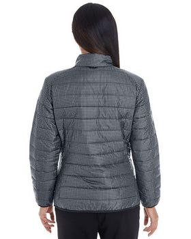 North End NE701W Ladies Printed Packable Puffer