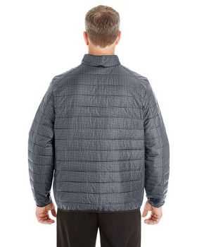 North End NE701 Mens Printed Packable Puffer
