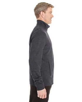North End NE704 Mens Melange Fleece Jacket