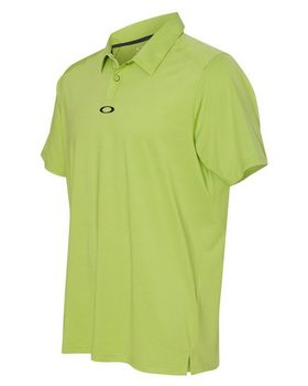 Oakley Newlyn Heathered Logo Embroidered Polo Shirt