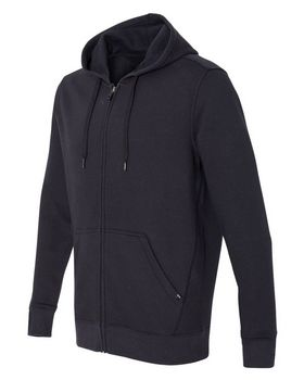 Oakley Cotton Logo Embroidered Blend Hooded Full-Zip Sweatshirt