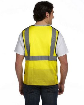 OccuNomix ECOGCBL Value Mesh Five-Point Breakaway Vest; Class 2