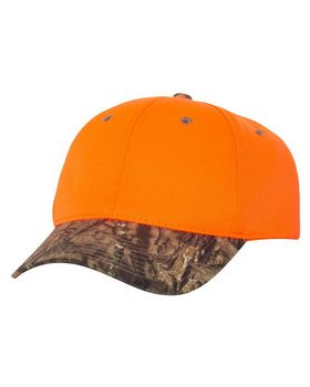Outdoor Cap 202IS Blaze Cap with Camo Visor