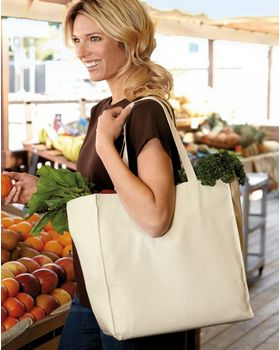 Port Authority B110 Port & Company Grocery Tote