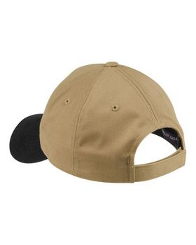 Port Authority C815 Two-Tone Brushed Twill Cap