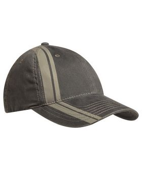 Port Authority C825 Double Stripe Cap