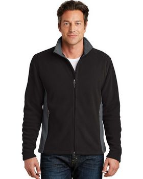 Port Authority F216 Colorblock Value Fleece Jacket