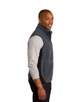 Port Authority F228 R-Tek Pro Fleece Full-Zip Vest