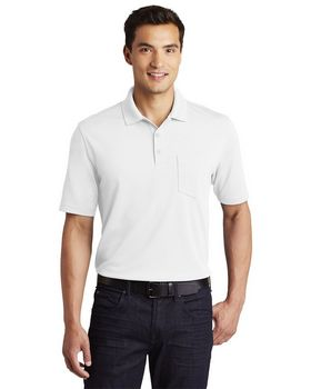Port Authority K110P Mens Pocket Polo Shirt