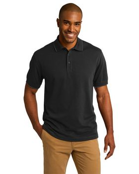 Port Authority K454 Rapid Dry Tipped Polo