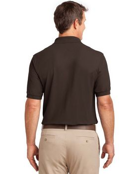 Port Authority K500P Silk Touch Polo with Pocket
