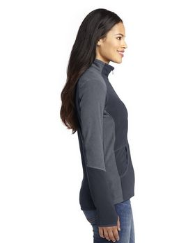 Port Authority L230 Ladies Colorblock Microfleece Jacket