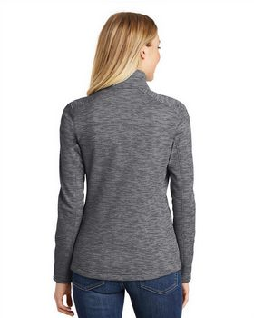 Port Authority L231 Ladies Digi Stripe Fleece Jacket