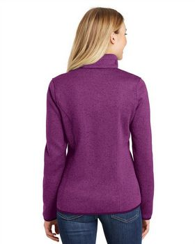 Port Authority L232 Ladies Sweater Fleece Jacket