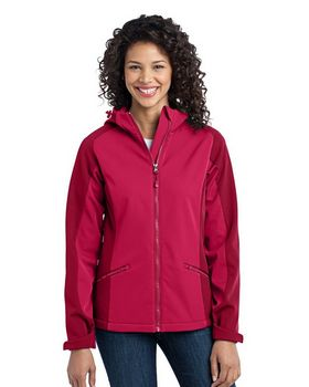 Port Authority L312 Ladies Gradient Hooded Soft Shell Jacket